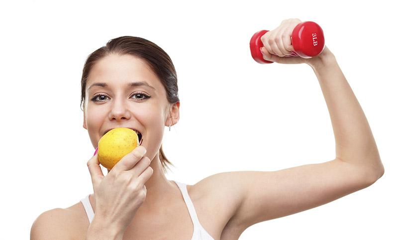 Як правильно харчуватися при заняттях фітнесом