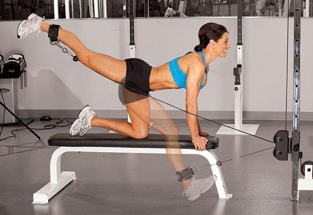 6 вправ для красивих і струнких ніг