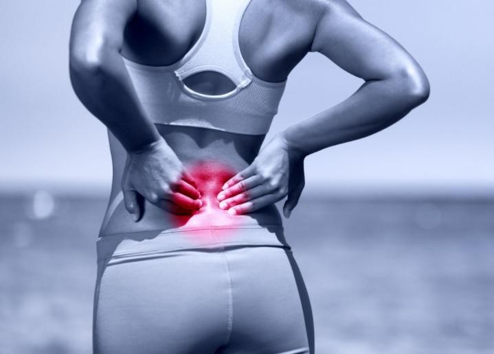 Як уникнути травм спини під час тренувань.