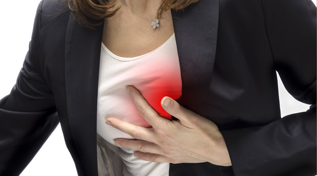 Біль в серці при грудному остеохондрозі