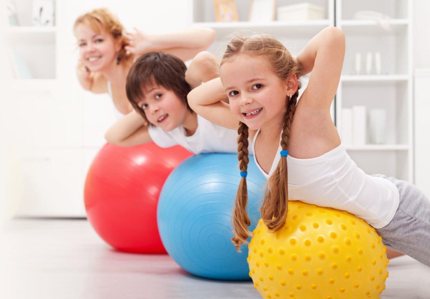 Чи можна дитині займатися фітнесом