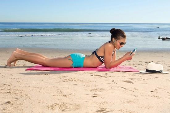 Вправи на пляжі - фітнес для ледачих
