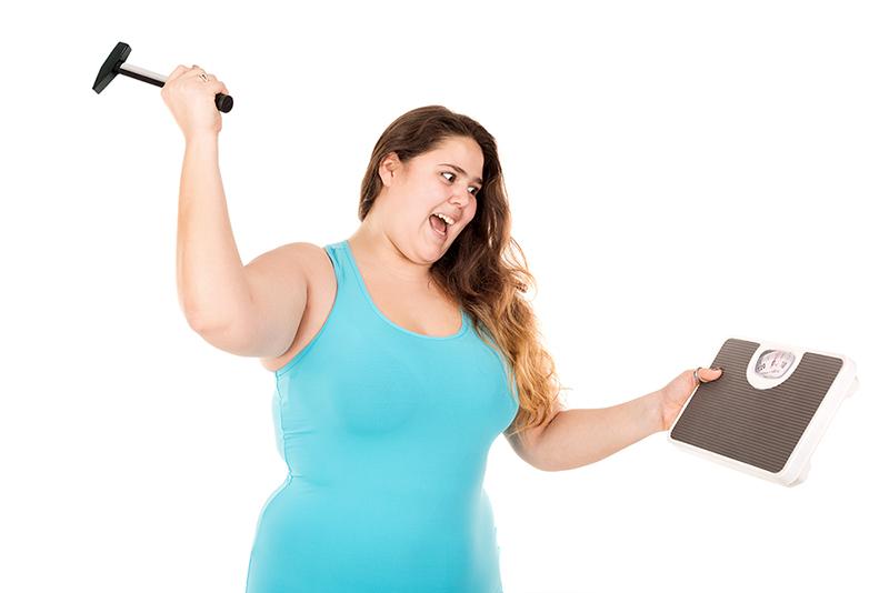 Чому не зменшується вага???