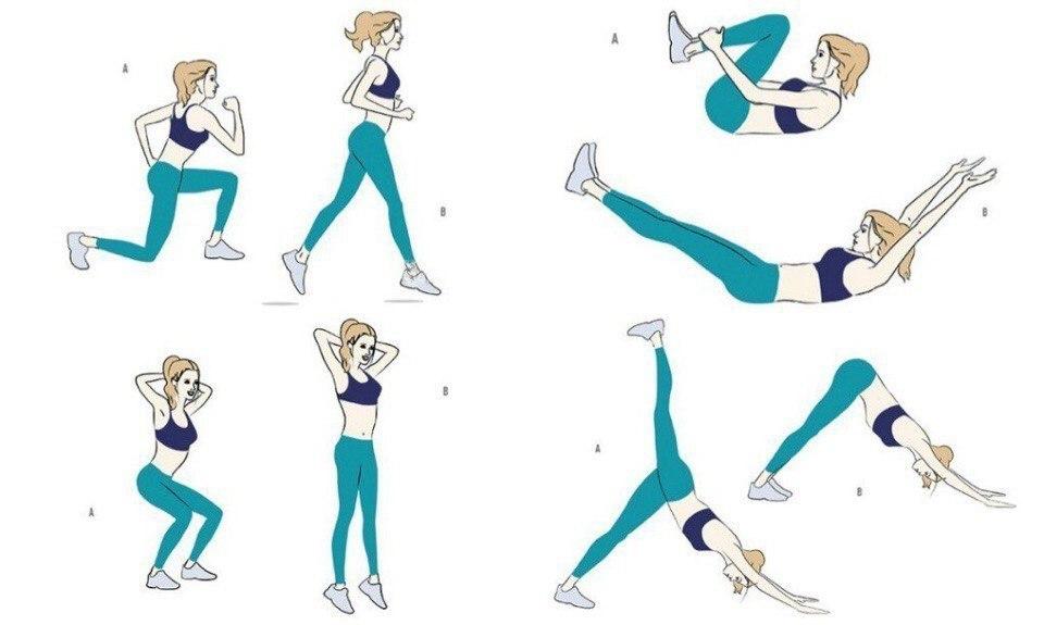 Упражнения На Похудении Ног. Упражнения для похудения ног: всего 5 минут в день!