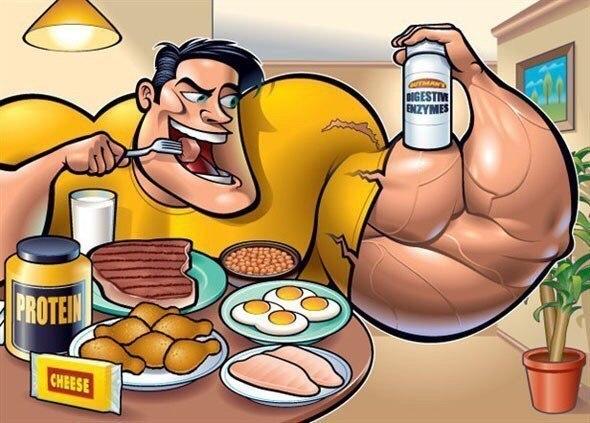 9 продуктів для росту м'язів