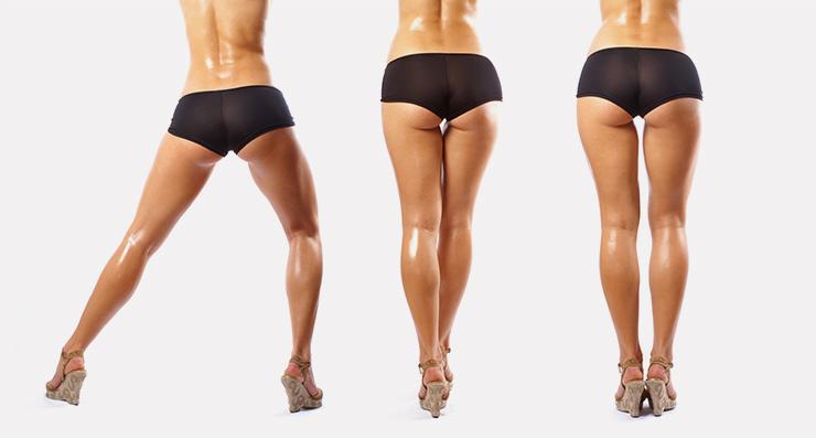Як зменшити об'єм стегон і сідниць швидко і ефективно