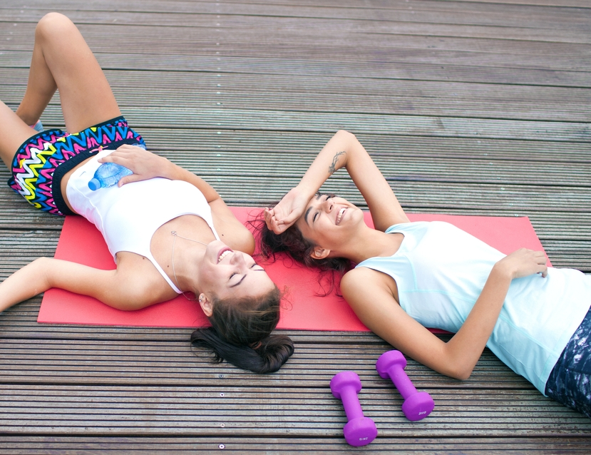 Як правильно відпочивати після тренування