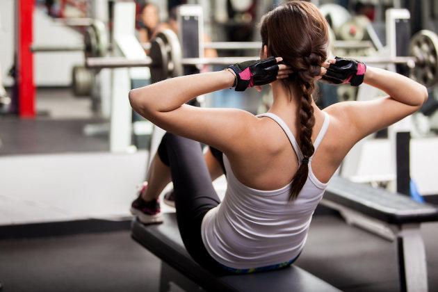 Вправи для живота (преса) (1 рівень) (+відео)