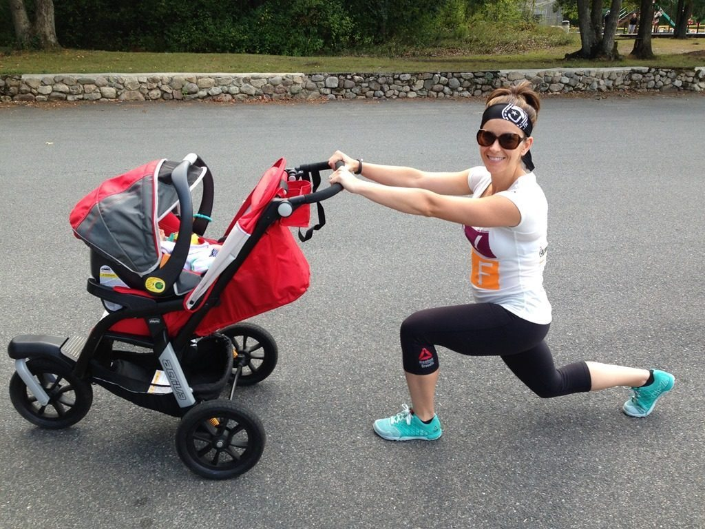 Вправи для мами із малюком